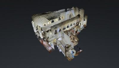 Chiesa via Lourdes Conegliano 3D Model
