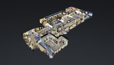 Showroom Piazzetta 3D Model