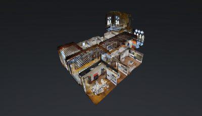 Zaha Hadid Exibithion – Venice 3D Model