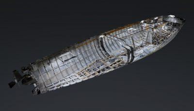 Aku-Aku Racing Boat 3D Model