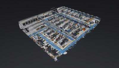 Brado Manufacturing Site 3D Model
