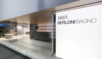 Sign Berloni Bagno 2018 3D Model